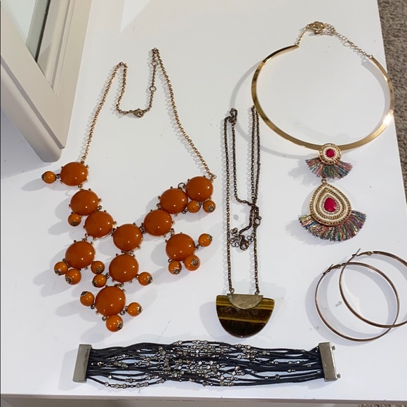 Necklace Jewelry Bundle Lot